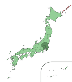 Japan Kanto Region large