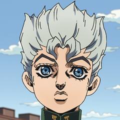 Illustrated headshot of Koichi
