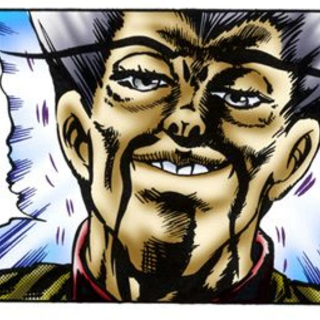 Wang Chan coveting the Stone Mask