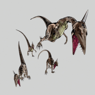 Small Dinosaurs created by Scary Monsters, <a href=