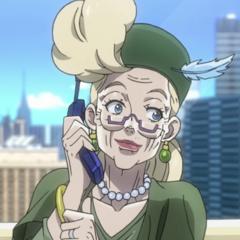 Suzi talking with Joseph in the phone