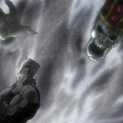 Justice makes Polnareff its puppet