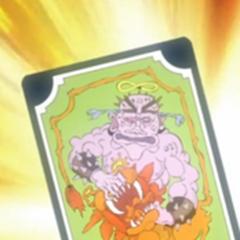 Tarot card representing Strength
