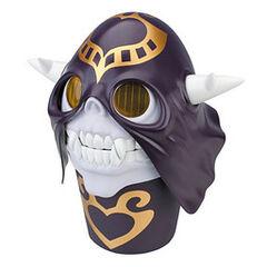 Cream mask bust