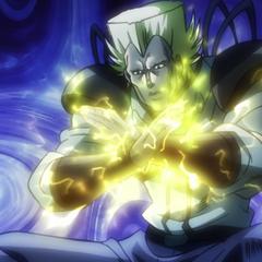 Thunder Split Attack in the anime