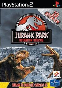 Jurassic Park Operation Genesis Cover