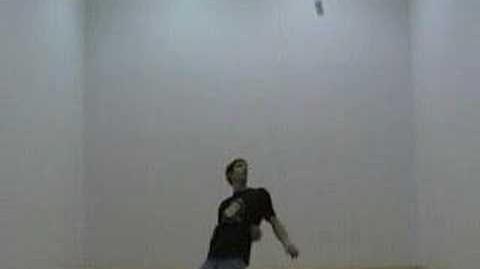 3 ball backcross pirouette into contortion