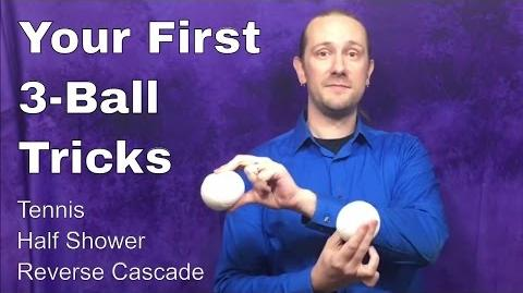 Your First 3-Ball Juggling Tricks