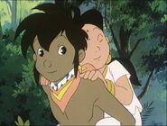 Mowgli carrying Jumeirah