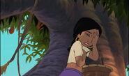 Shanti has slapped her forehead