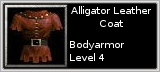 Alligator Leather Armor quick short