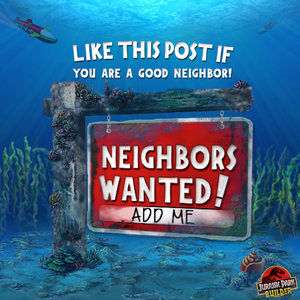 Underwater Neighbors Wanted