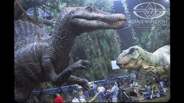 Jurassic Park Spinosaurus Aegypticus Sound Effects HD