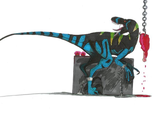 File:Jurassic Park Raptor Alpha by hellraptor.jpg
