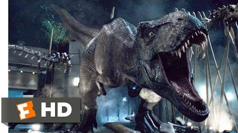 Jurassic World (9 10) Movie CLIP - T-Rex vs. Indominus (2015) HD