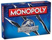 Jurassic World Monopoly prototype