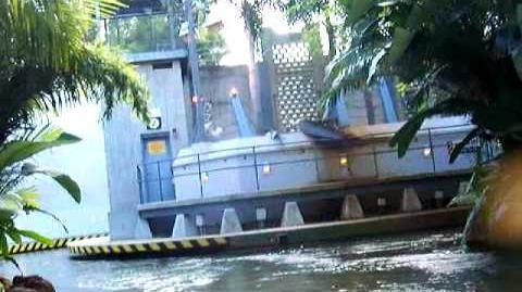 Jurassic Park Attraction Island Of Adventure Florida - FULL RIDE