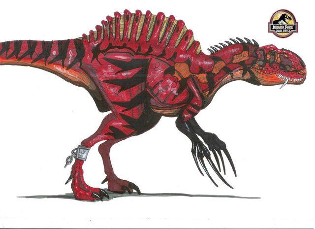 File:Jurassic Park Therizinospinus by hellraptor.jpg