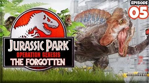 SPINOSAURUS! (AND AN HOUR LONG SPECIAL) Jurassic Park Operation Genesis (Let's Play Part 5)
