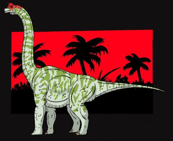 File:Brachiosaurus Fanart By Hellraptor.jpg