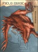 2001 Jurassic Park III 3-D 63 Stegosaurus front