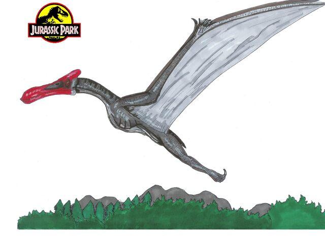 File:Jurassic Park Quetzalcoatlus by hellraptor.jpg