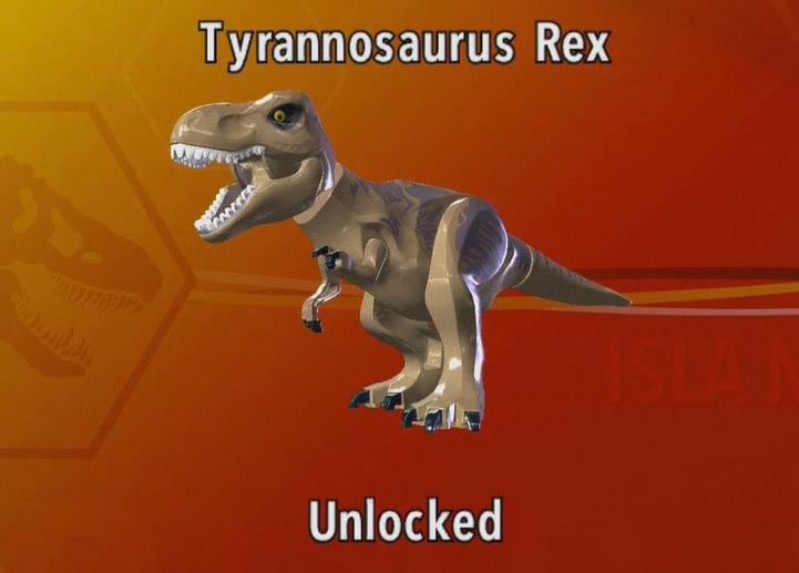 tyrannosaurus rexlego jurassic park wiki fandom