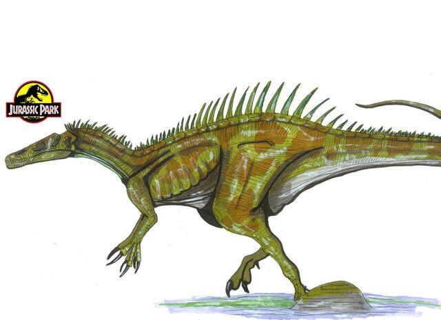 File:Jurassic Park Suchomimus by hellraptor.jpg