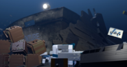 LEGO SS Venture pier