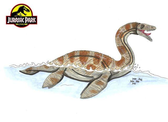 File:Jurassic Park Plesiosaur by hellraptor.jpg