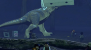 LEGO Jurassic World The Videogame T-rex in the tent2