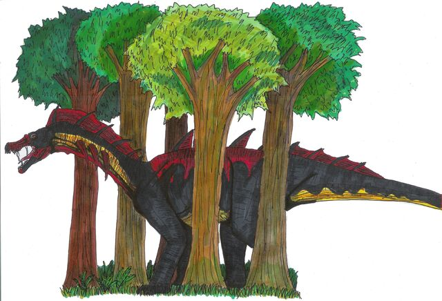 File:Jurassic Park Amargospinus by hellraptor.jpg