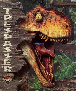 Trespasser- Jurassic Park Cover