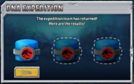 Submarine Expedition DNA