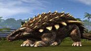 Ankylosaur body