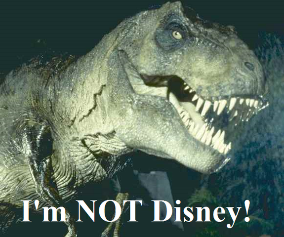 File:JP T-Rex i'm not disney.png