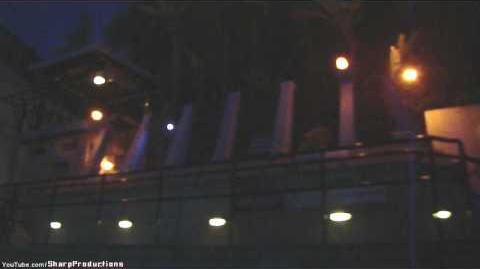 Jurassic Park at Night Universal Studios Hollywood