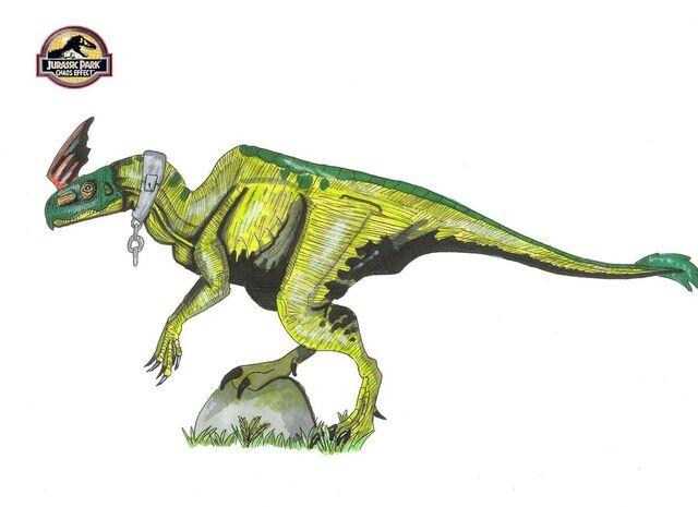 File:Jurassic Park Pachysaurolophus.jpg