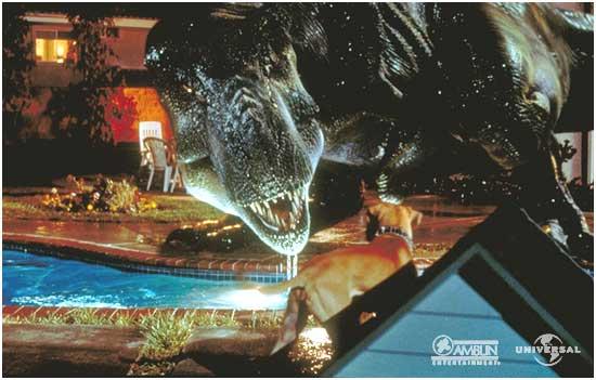 File:Tyrannosaurus rex and dog.jpg