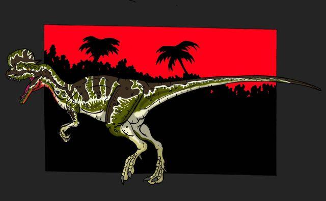File:Jp dilophosaurus veneinfer by hellraptor-d5z4znx.jpg