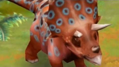 Jurassic Park Builder - Triceratops Jurassic Park-0
