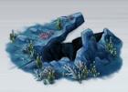 Underwater Crevasse