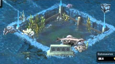 Jurassic Park Builder - Dakosaurus Limited Aquatic Park