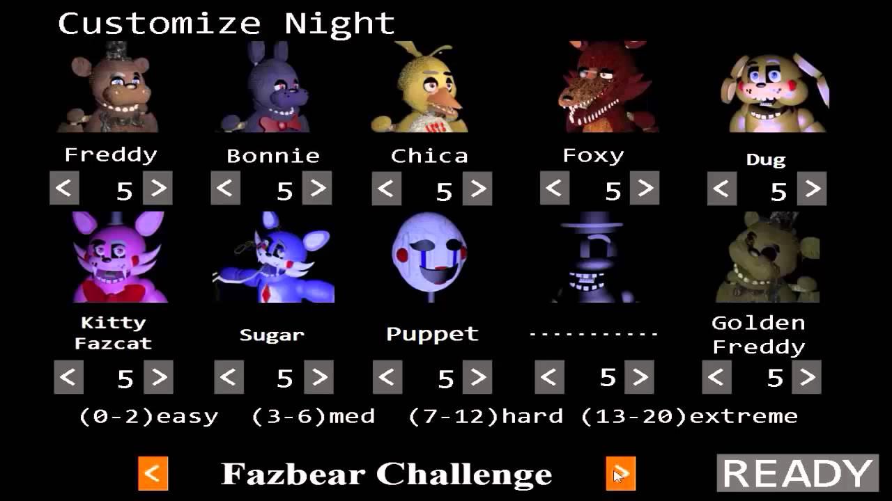 Custom Night The Return To Freddy S Wikia Fandom