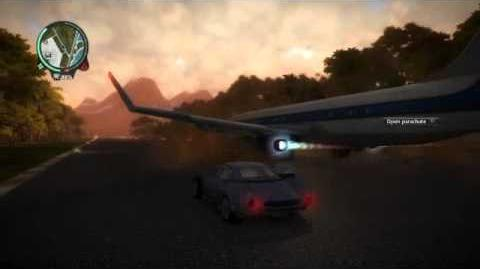Just Cause 2 easy stunt driver points