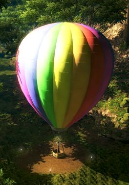 Hot air balloon(2)