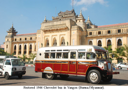 Chevrolet ''big belly'' (restored in Burma)