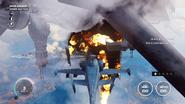 EDEN Airship (big explosion under the rear end)