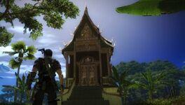 Temple in Panau