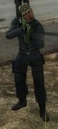 Black Hand Camo Hat Soldier